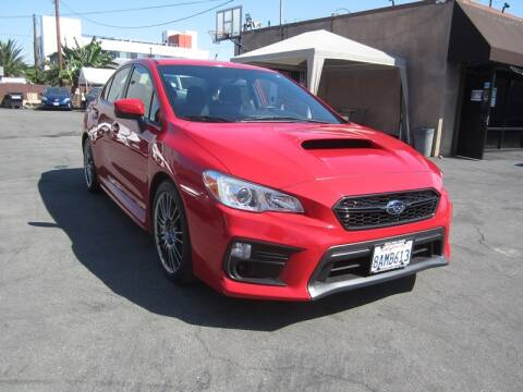 2018 Subaru WRX for sale at Win Motors Inc. in Los Angeles CA