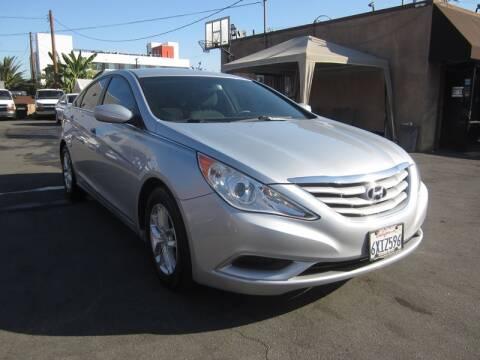 2012 Hyundai Sonata for sale at Win Motors Inc. in Los Angeles CA