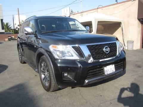 2019 Nissan Armada for sale at Win Motors Inc. in Los Angeles CA
