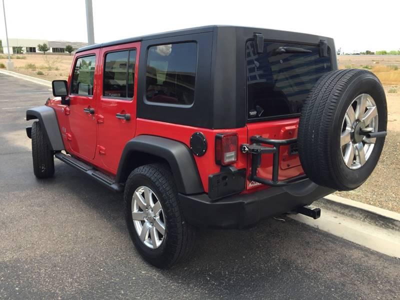 2008 Jeep Wrangler Unlimited 4x4 X 4dr SUV - Tempe AZ