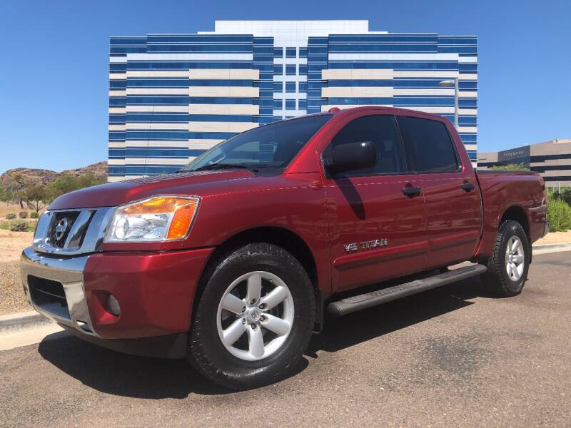 2014 Nissan Titan for sale at Day & Night Truck Sales in Tempe AZ
