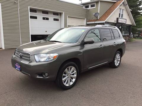 2008 Toyota Highlander Hybrid for sale at Prime Auto LLC in Bethany CT
