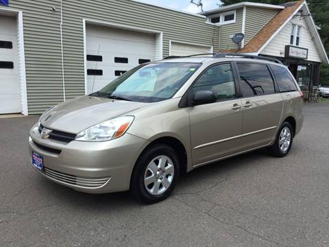 2005 Toyota Sienna for sale at Prime Auto LLC in Bethany CT