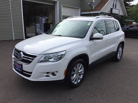 2009 Volkswagen Tiguan for sale at Prime Auto LLC in Bethany CT