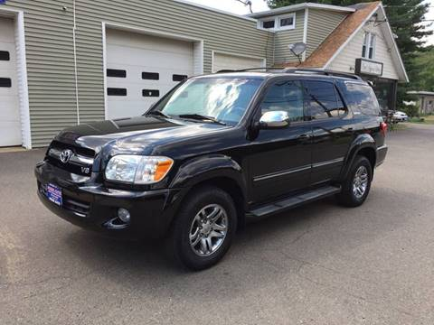 2007 Toyota Sequoia for sale at Prime Auto LLC in Bethany CT