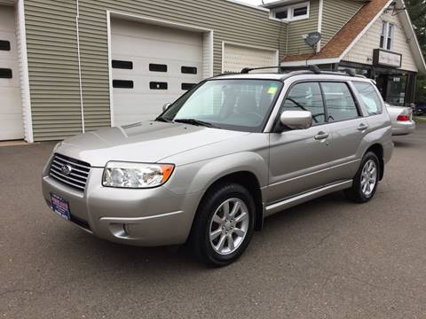 2007 Subaru Forester for sale at Prime Auto LLC in Bethany CT
