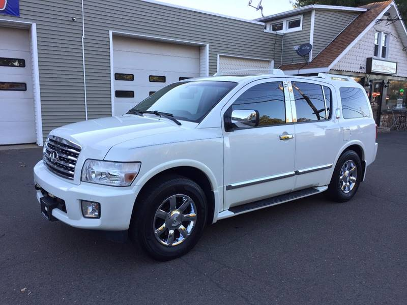 2007 Infiniti QX56 for sale at Prime Auto LLC in Bethany CT