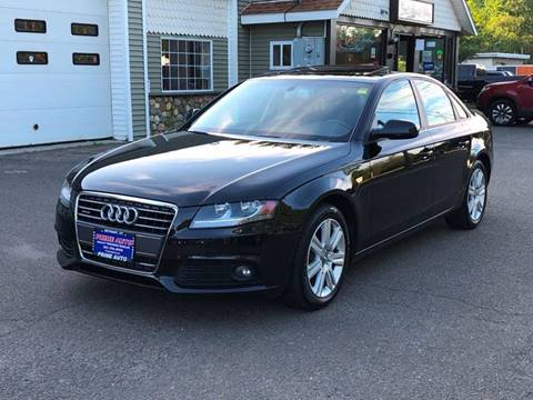 2012 Audi A4 for sale at Prime Auto LLC in Bethany CT
