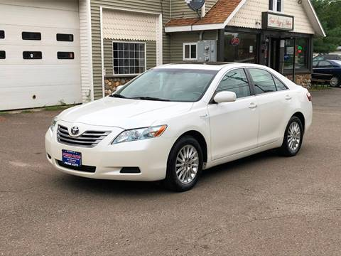 2007 Toyota Camry Hybrid for sale at Prime Auto LLC in Bethany CT
