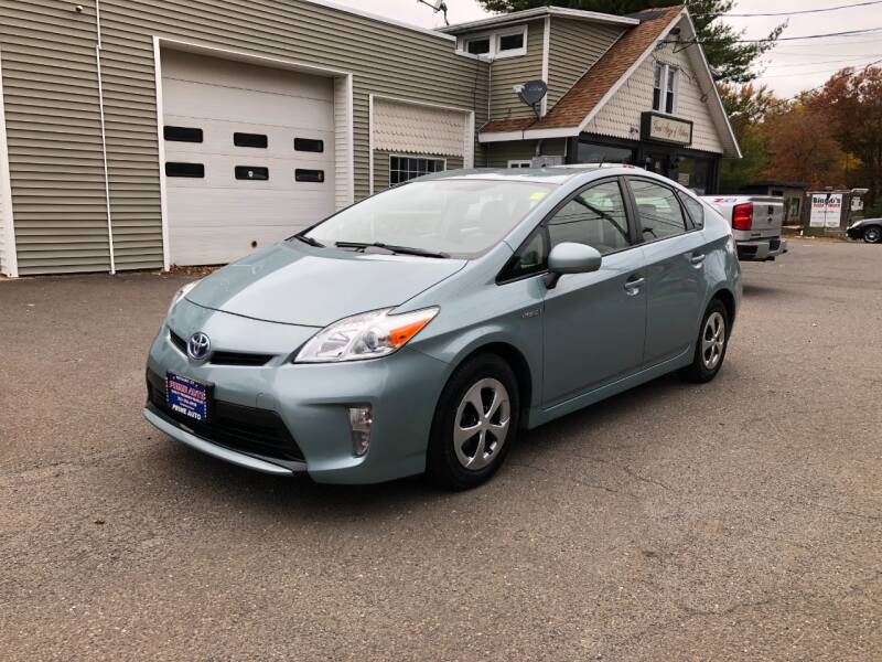 2012 Toyota Prius for sale at Prime Auto LLC in Bethany CT