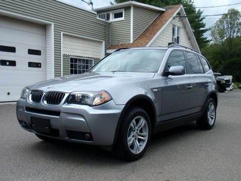 2006 BMW X3 for sale at Prime Auto LLC in Bethany CT