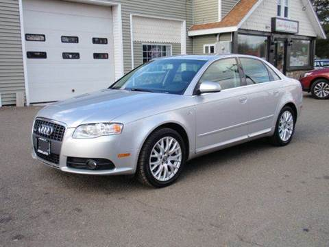 2008 Audi A4 for sale at Prime Auto LLC in Bethany CT