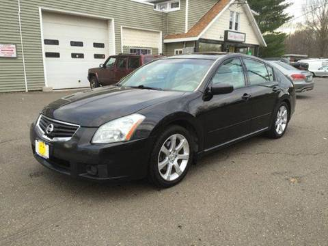 2007 Nissan Maxima for sale at Prime Auto LLC in Bethany CT