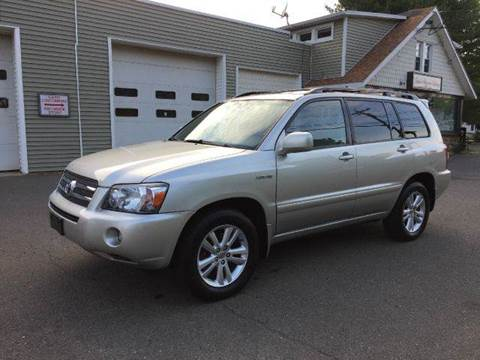 2006 Toyota Highlander Hybrid for sale at Prime Auto LLC in Bethany CT