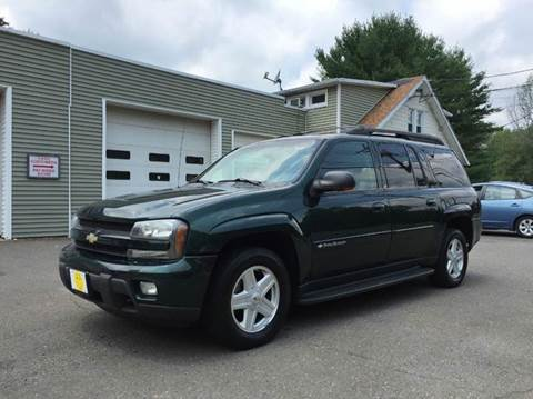2003 Chevrolet TrailBlazer for sale at Prime Auto LLC in Bethany CT