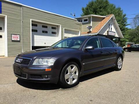 2004 Audi A8 for sale at Prime Auto LLC in Bethany CT