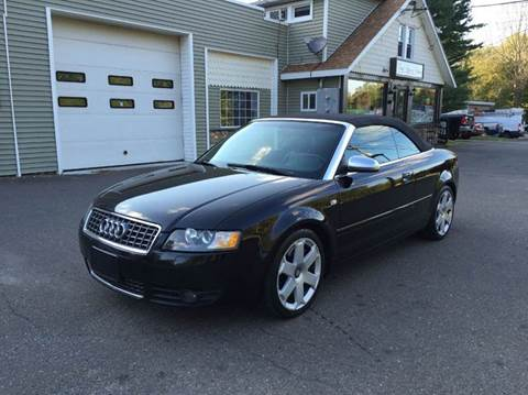 2004 Audi S4 for sale at Prime Auto LLC in Bethany CT