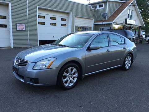 2008 Nissan Maxima for sale at Prime Auto LLC in Bethany CT