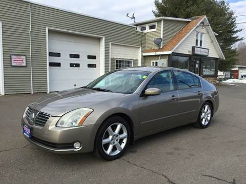 2004 Nissan Maxima for sale at Prime Auto LLC in Bethany CT