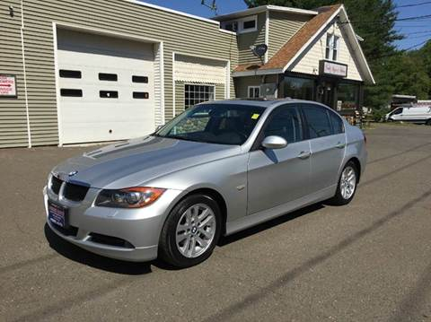 2007 BMW 3 Series for sale at Prime Auto LLC in Bethany CT