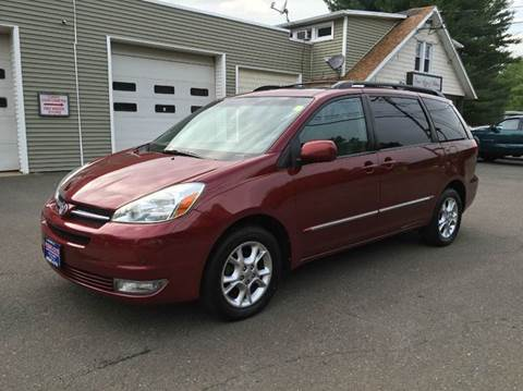 2004 Toyota Sienna for sale at Prime Auto LLC in Bethany CT