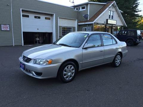 2001 Toyota Corolla for sale at Prime Auto LLC in Bethany CT