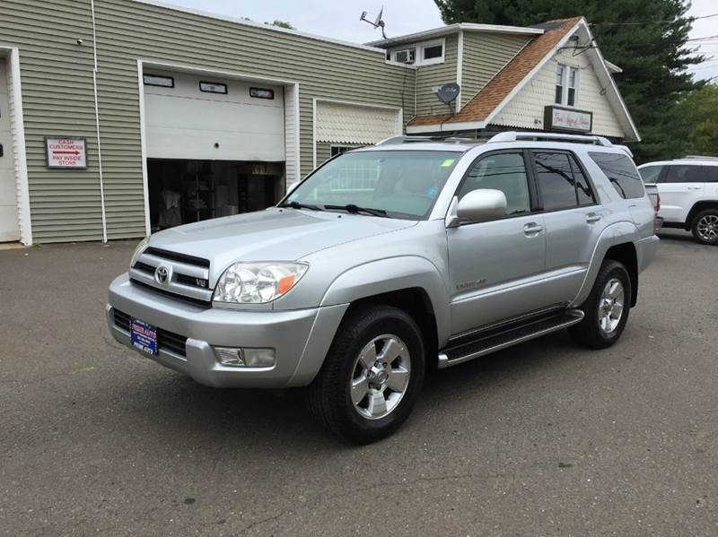 2003 toyota 4runner limited 4wd 4dr suv in bethany ct prime auto llc. Black Bedroom Furniture Sets. Home Design Ideas