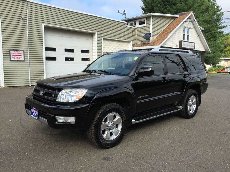 2004 toyota 4runner limited 4wd 4dr suv in bethany ct. Black Bedroom Furniture Sets. Home Design Ideas