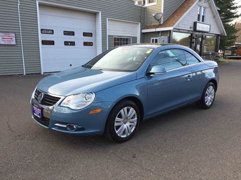 2007 Volkswagen Eos for sale at Prime Auto LLC in Bethany CT