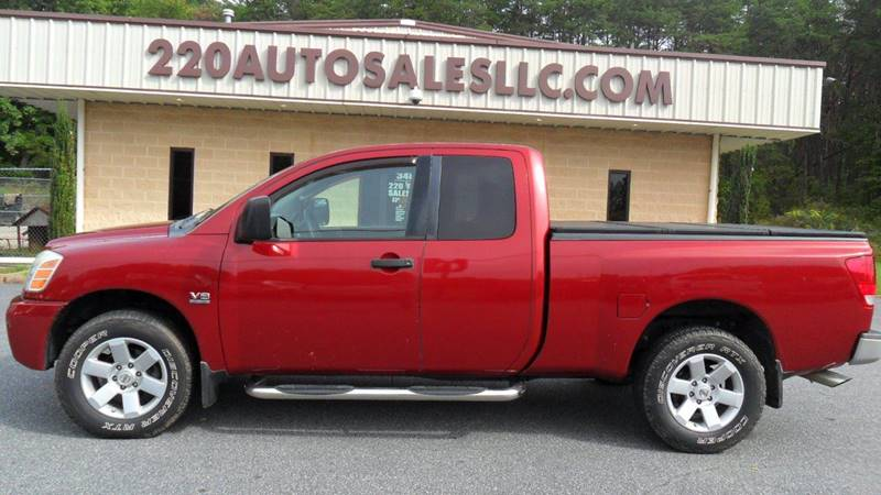 2004 Nissan Titan 4dr King Cab Xe 4wd Sb In Madison Nc 220 Auto