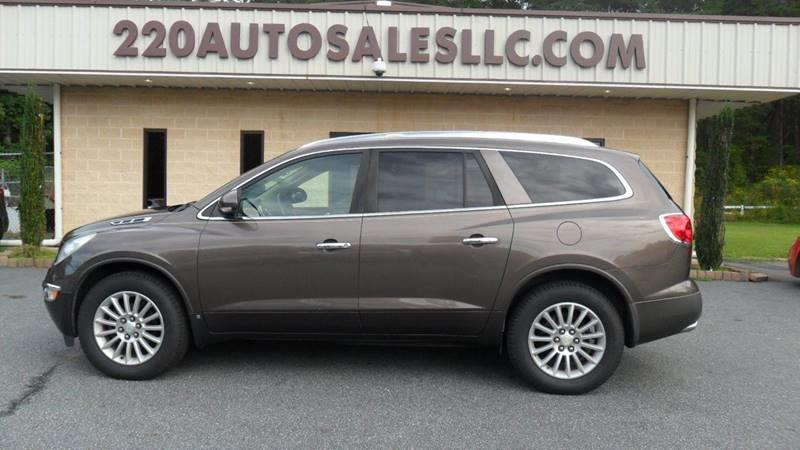 220 Auto Sales >> 2008 Buick Enclave Cxl 4dr Crossover In Madison Nc 220 Auto Sales Llc