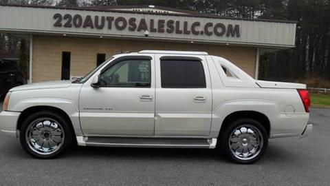 Cadillac Escalade Ext For Sale In North Carolina Carsforsale Com