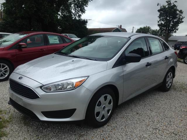 2017 Ford Focus for sale at Kenny Vice Ford Sales Inc - New Inventory in Ladoga IN