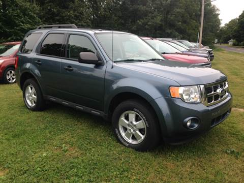2011 Ford Escape for sale at Kenny Vice Ford Sales Inc - USED Vehicle Inventory in Ladoga IN