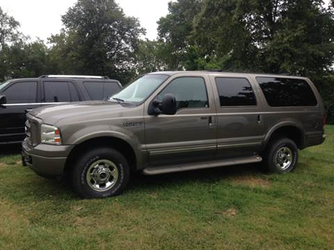 2005 Ford Excursion for sale at Kenny Vice Ford Sales Inc - USED Vehicle Inventory in Ladoga IN