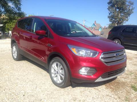 2017 Ford Escape for sale at Kenny Vice Ford Sales Inc - New Inventory in Ladoga IN