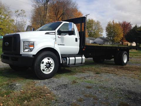 Flatbed Truck For Sale >> 2017 Ford F 650 Super Duty For Sale In Ladoga In