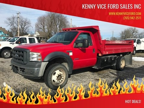 2006 Ford F-550 Super Duty for sale in Ladoga, IN