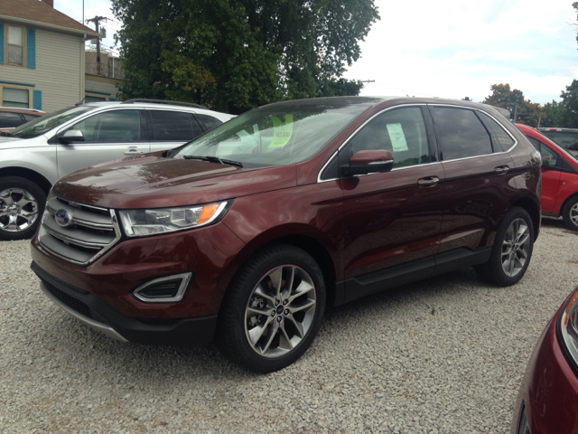 2016 Ford Edge for sale at Kenny Vice Ford Sales Inc - New Inventory in Ladoga IN