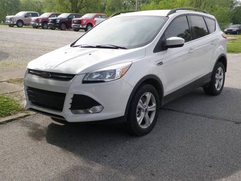2016 Ford Escape for sale at Kenny Vice Ford Sales Inc - USED Vehicle Inventory in Ladoga IN
