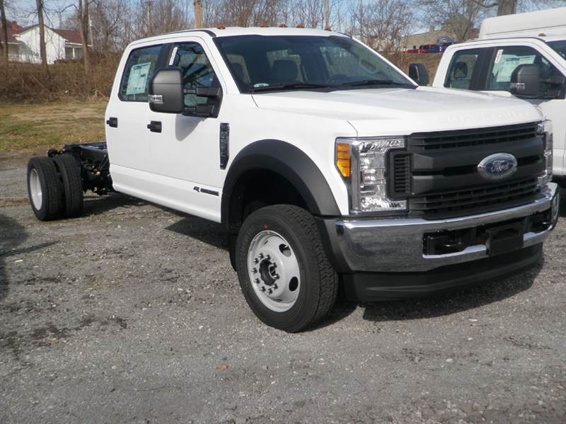 2017 Ford F-550 for sale at Kenny Vice Ford Sales Inc - New Inventory in Ladoga IN