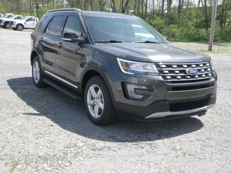 2017 Ford Explorer for sale at Kenny Vice Ford Sales Inc - New Inventory in Ladoga IN