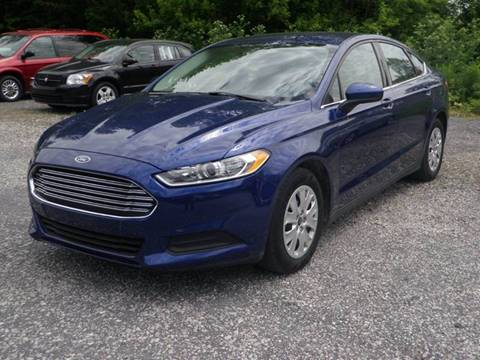 2013 Ford Fusion for sale at Kenny Vice Ford Sales Inc - USED Vehicle Inventory in Ladoga IN