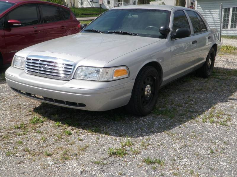 2010 Ford Crown Victoria for sale at Kenny Vice Ford Sales Inc - USED Vehicle Inventory in Ladoga IN
