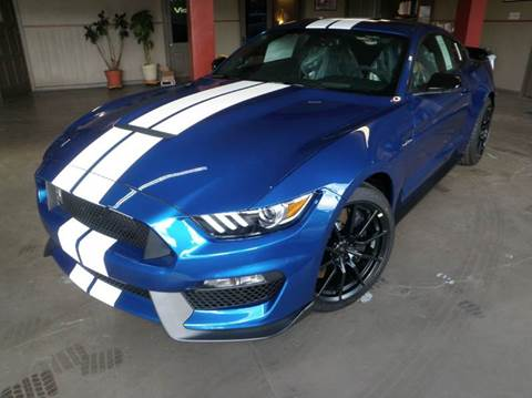 2017 Ford Mustang for sale at Kenny Vice Ford Sales Inc - New Inventory in Ladoga IN