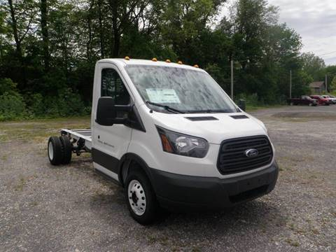 2017 Ford Transit Chassis Cab for sale at Kenny Vice Ford Sales Inc - New Inventory in Ladoga IN