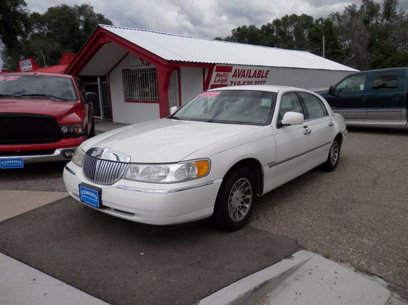2001 Lincoln Town Car Signature 4dr Sedan In Fountain Co Cimino