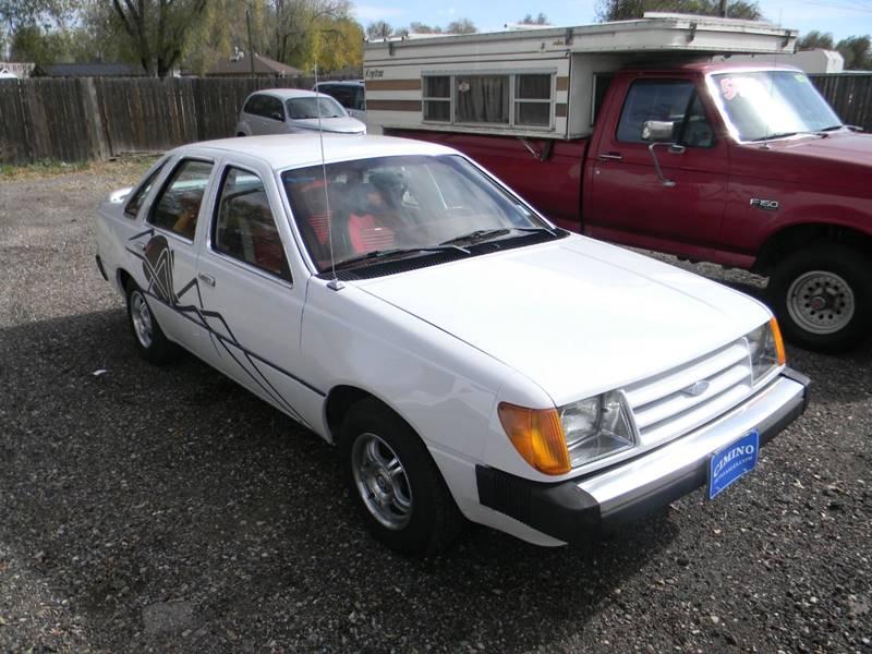 1984 ford tempo gl 4dr sedan in fountain co cimino auto sales Ford Tempo GL contact