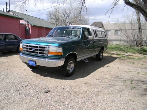 1996 Ford F-150 for sale in Fountain, CO