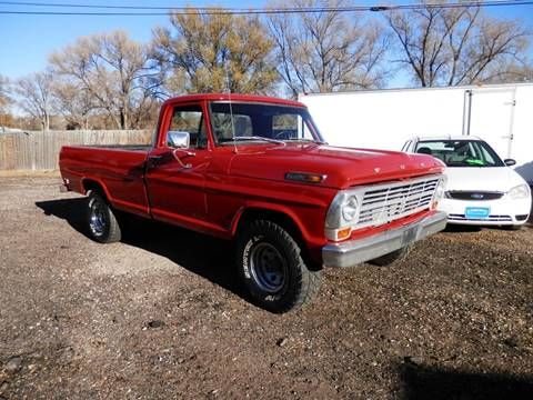 Ford f 100 for sale carsforsale 1969 ford f 100 for sale in fountain co sciox Gallery